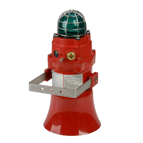 BExCS110-L2 Explosion Proof Alarm Horn & LED Beacon
