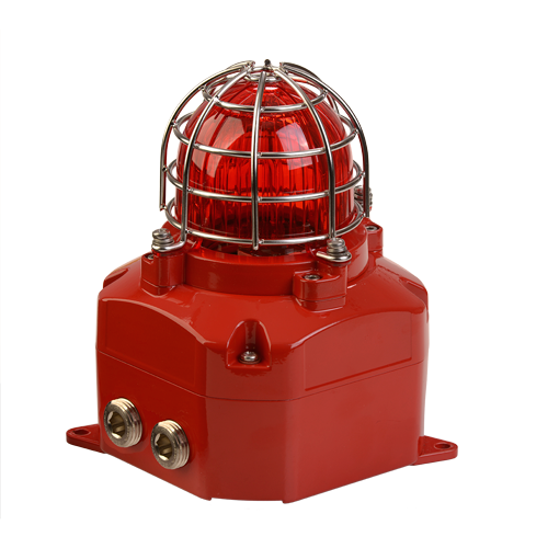 D2xB1X10 Haz Loc Xenon Strobe Beacon Warning Light